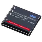Casio NP-120 3.7 Volt Li-ion Digital Camera Battery