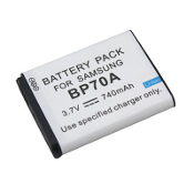 BP-70A 3.7 Volt Li-ion Digital Camera Battery