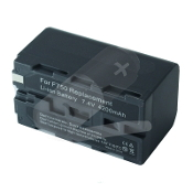 NP-F750 7.4 Volt Li-ion Camcorder Battery