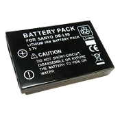 DB-L50 3.7 Volt Li-ion Camcorder Battery