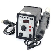 858D HOT AIR REWORK SOLDERING STATION