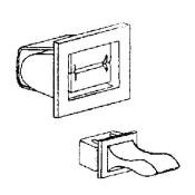 Whirlpool Dryer LATCH KIT DOOR M/F 5366021400