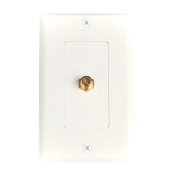 Decora Style Coaxial Wall Plate, WCP-6