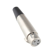 XLR Female Connector, PL-401