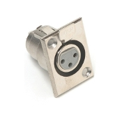 XLR Chassis Mount Connector, PL-403