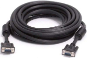 50' Coaxial High Resolution VGA Monitor Cable
