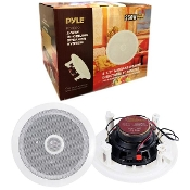 "6.5"" (250W) Mid-Bass 2-Way In-Ceiling Speaker System - 2 Pieces"