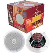 "8"" (300W) Mid-Bass 2-Way In-Ceiling Speaker System - 2 Pieces -"