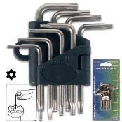 9pc Star Allen Wrench Set