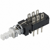 PC Mount Pushbutton Switch, 6-PIN, SW-26L