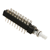 PC Mount Pushbutton Switch, 18-Pin, SW-33L