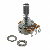16mm Potentiometers Solder Terminal, POT-AXX