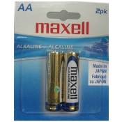Maxell AA (Blister Card) - 2 Pack