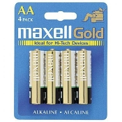 Maxell AA (Blister Card) - 4 Pack