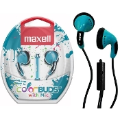 Maxell ColorBuds w/ Microphone