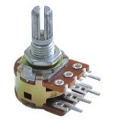 16mm PC Mount Dual Potentiometer