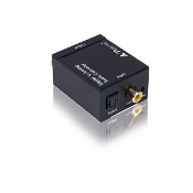 Digital Optical Coax to Analog RCA Audio Converter Adapter