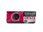 CR1616 Maxell Lithium Coin Battery