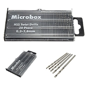 20pcs Mini, Micro Drill Bit Set