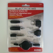 6PCS Headphone Adaptor Kit