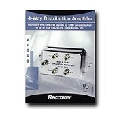 4 way signal distribution amplifier