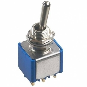 DPDT Minature Toggle Switch, SW-13
