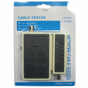 Cable Tester for RJ45 and BNC Network Cables