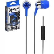 "Wicked Audio ""Deuce"" Earbuds, Blue"