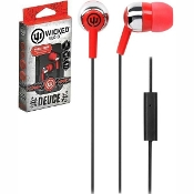 "Wicked Audio ""Deuce"" Earbuds, Red"