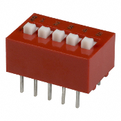 5 Position DIp Switch