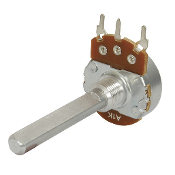 Linear (B) Single Gang 24mm Potentiometer