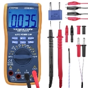 Digital Multimeter Kit, Auto Ranging RMS 6000 Count