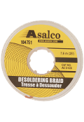 "Desoldering Braid, Yellow 0.05"" x 25 Feet AEO025"
