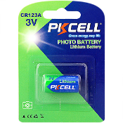 CR123A 3V Lithium Photo Battery