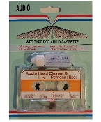 Audio Cassette Tape Head Cleaner & Demagnetizer