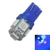 8V LED Wedge Lamp, Blue Light