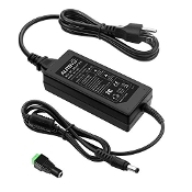 24V 3A 72W AC to DC Adapter Power Supply Converter Charger AC 10