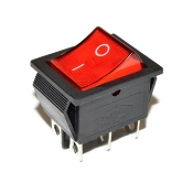 Lighted Dual Rocker Switch