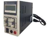 DC LAB SWITCHING POWER SUPPLY 0-30 VDC / 0-10 A WITH LCD DISPLAY