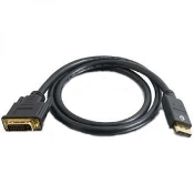 6 ft. DisplayPort Male to DVI-D Male Cable